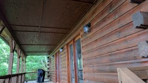 Log Cabin Care: Staining, Media Blasting, & Maintenance